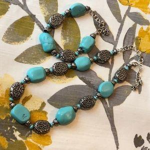 Brighton Full Moon Rising Necklace & Bracelet